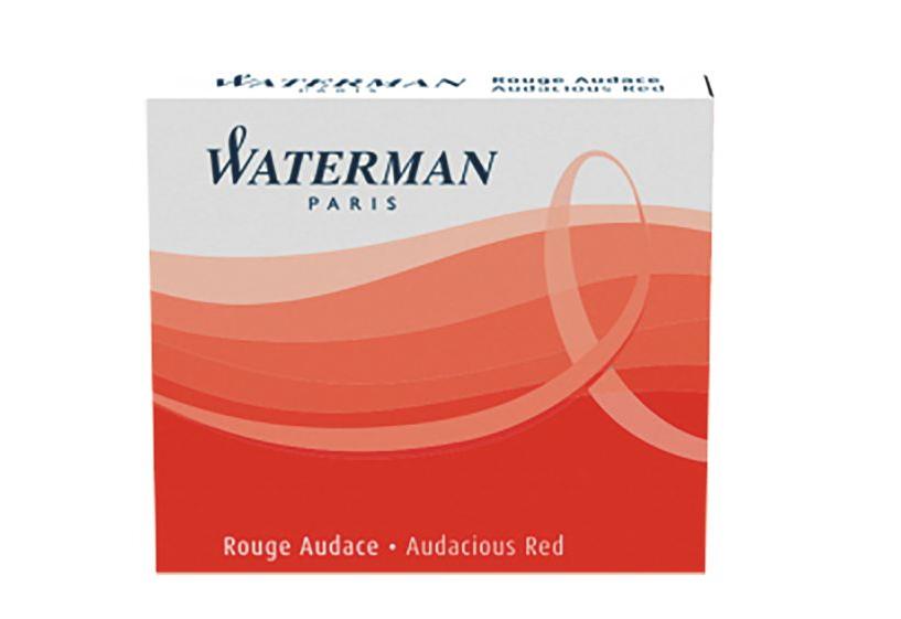 WATERMAN S0110970 - Rot - Rot - Weiß - Füllfederhalter - 6 Stück(e)