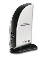 USBDVIDOCK Schwarz - Weiß Notebook-Dockingstation & Portreplikator