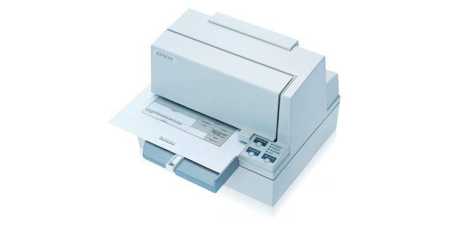 Epson TM-U590 prescription printer dot-matrixprinting/print width 135.6 mm/speed 311characters/sec/Ethernet/ESC/POS/no interface cable/no power supply unit