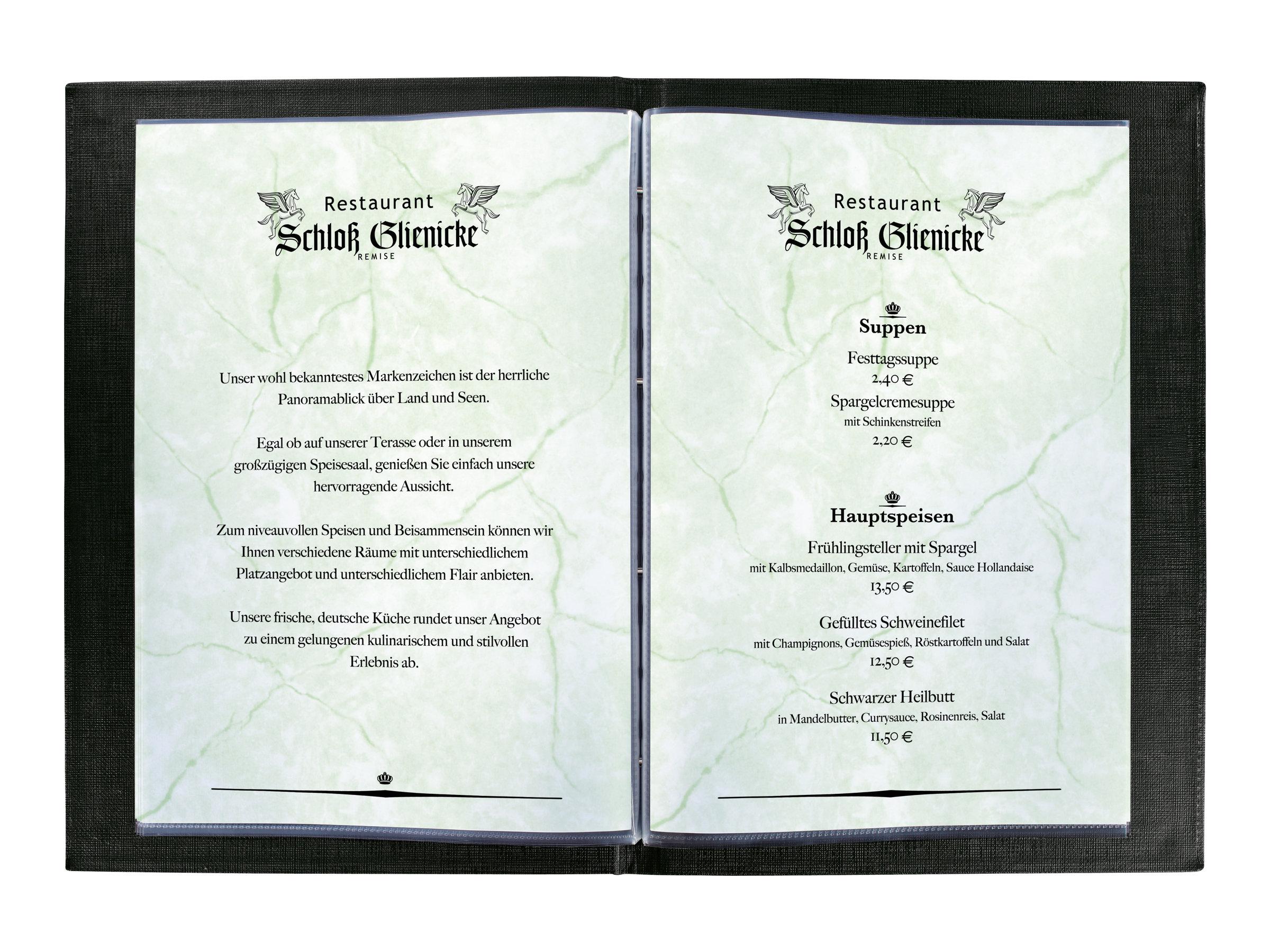 Sigel Design Paper - Granit grün