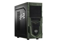 Military Gaming 5716 3.6GHz G4600 Schwarz - Grün PC