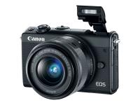 EOS M100 Systemkamera 24.2MP CMOS 6000 x 4000Pixel Schwarz