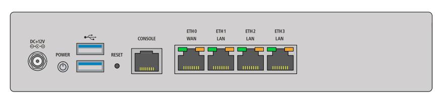 Lancom UF-60 - 3500 Mbit/s - 790 Gbit/s - 700 Mbit/s - Verkabelt - 10,100,1000 Mbit/s - RJ-45