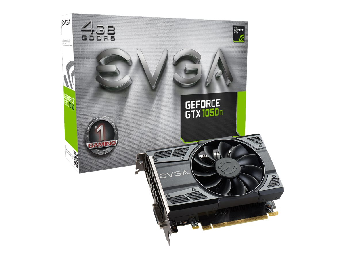 EVGA GeForce GTX 1050 Ti Gaming - Grafikkarten
