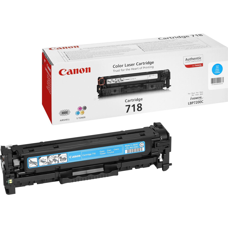 Canon 718 Cyan Cyan 2900 sider
