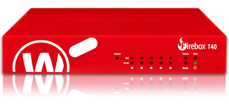 Vorschau: WatchGuard Firebox T40-W - 3400 Mbit/s - 3,4 Gbit/s - 1 Gbit/s - 880 Mbit/s - 272 Mbit/s - 0,88 Gbit/s