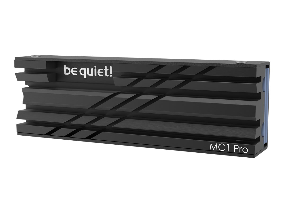 Vorschau: Be Quiet! MC1 PRO - Solid State Drive Kühlkörper
