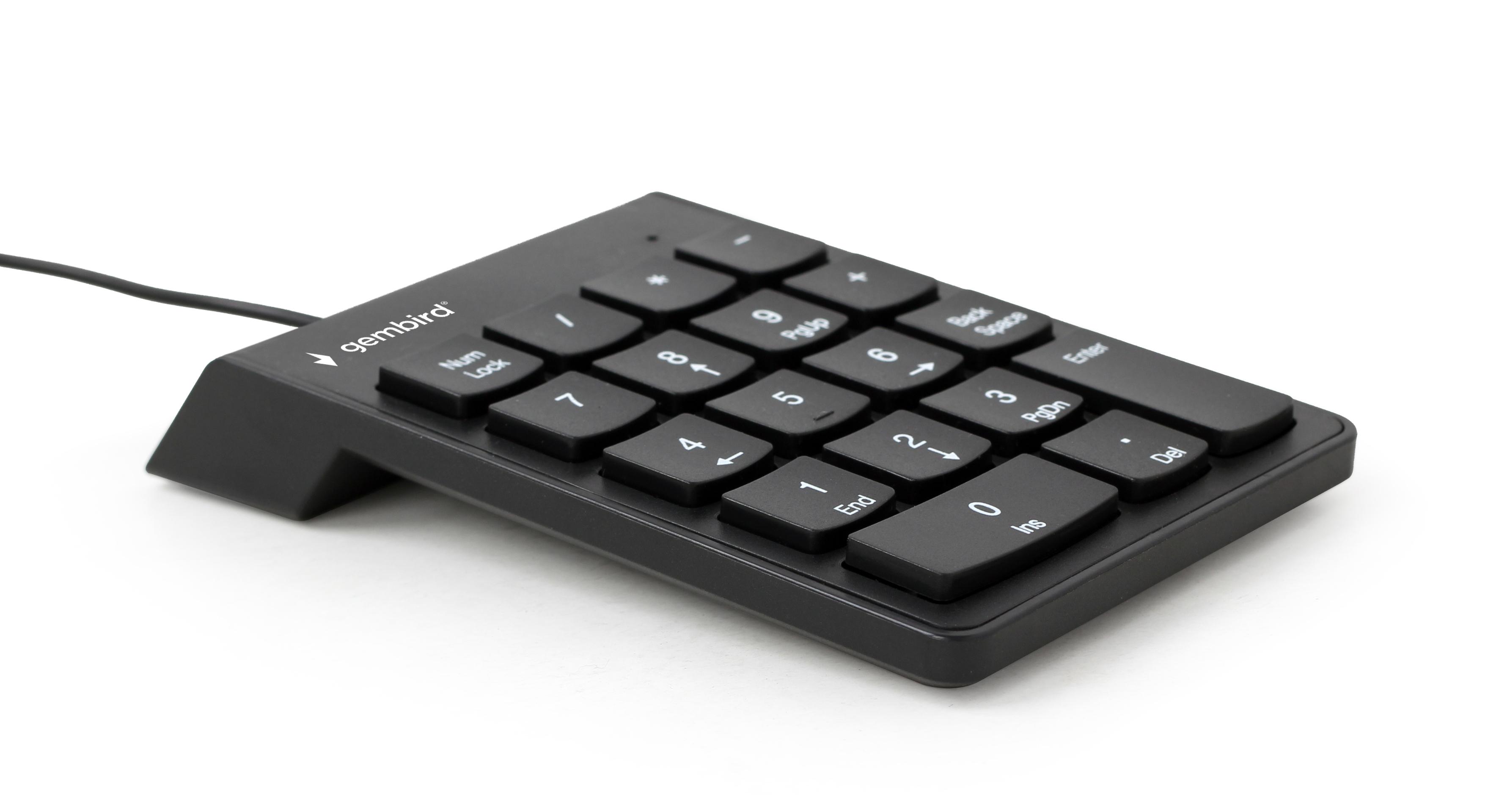 Gembird KPD-U-02 - USB - PC - Schwarz - 1,5 m - CE - USB
