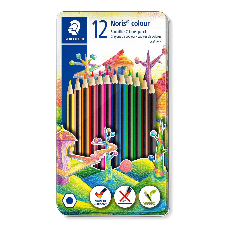 STAEDTLER 185 M12 - Noris colour - Buntstifte - 12 Stück