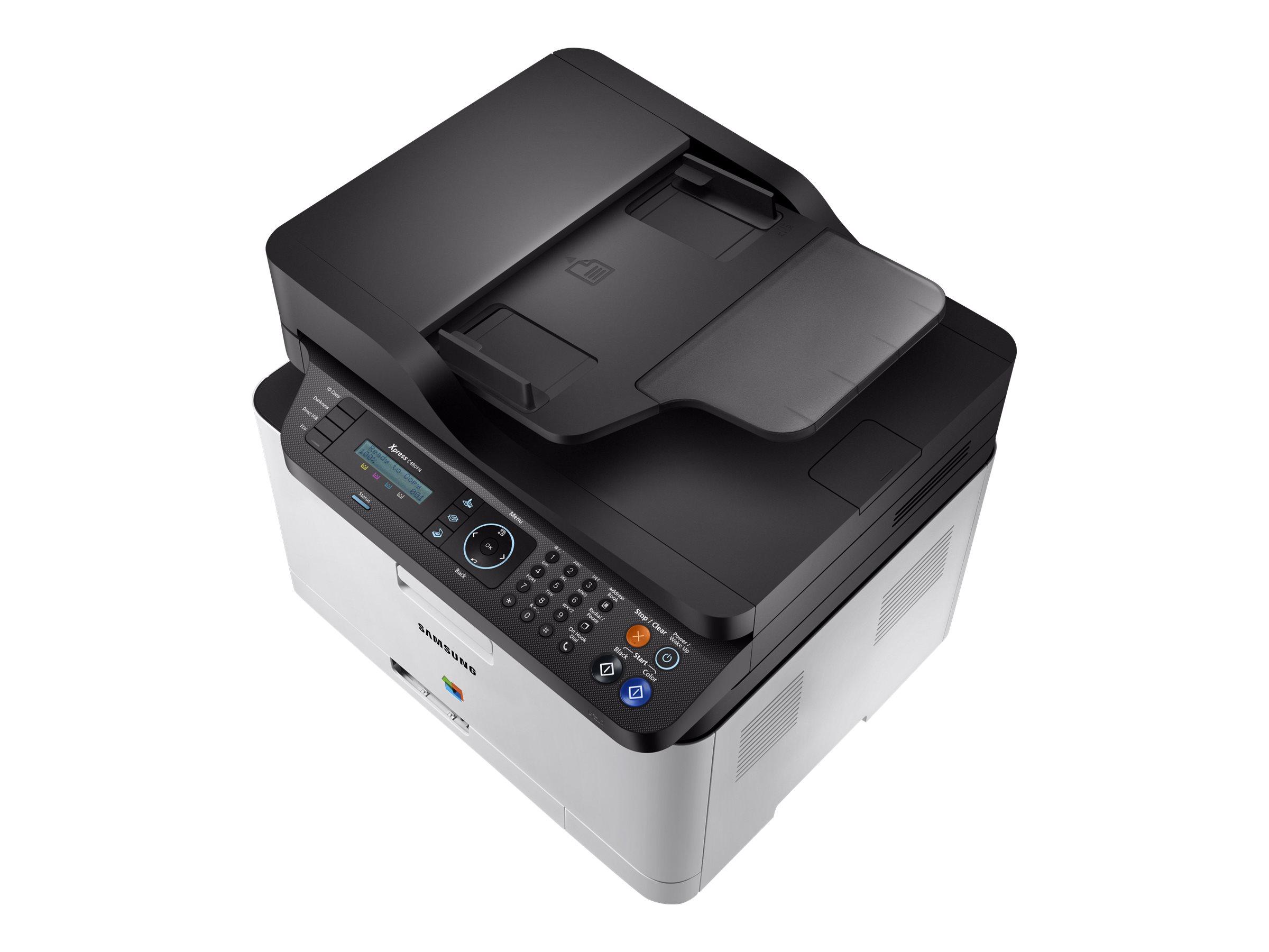 HP Samsung Xpress SL-C480FN - Multifunktionsdrucker - Farbe - Laser - Legal (216 x 356 mm)/