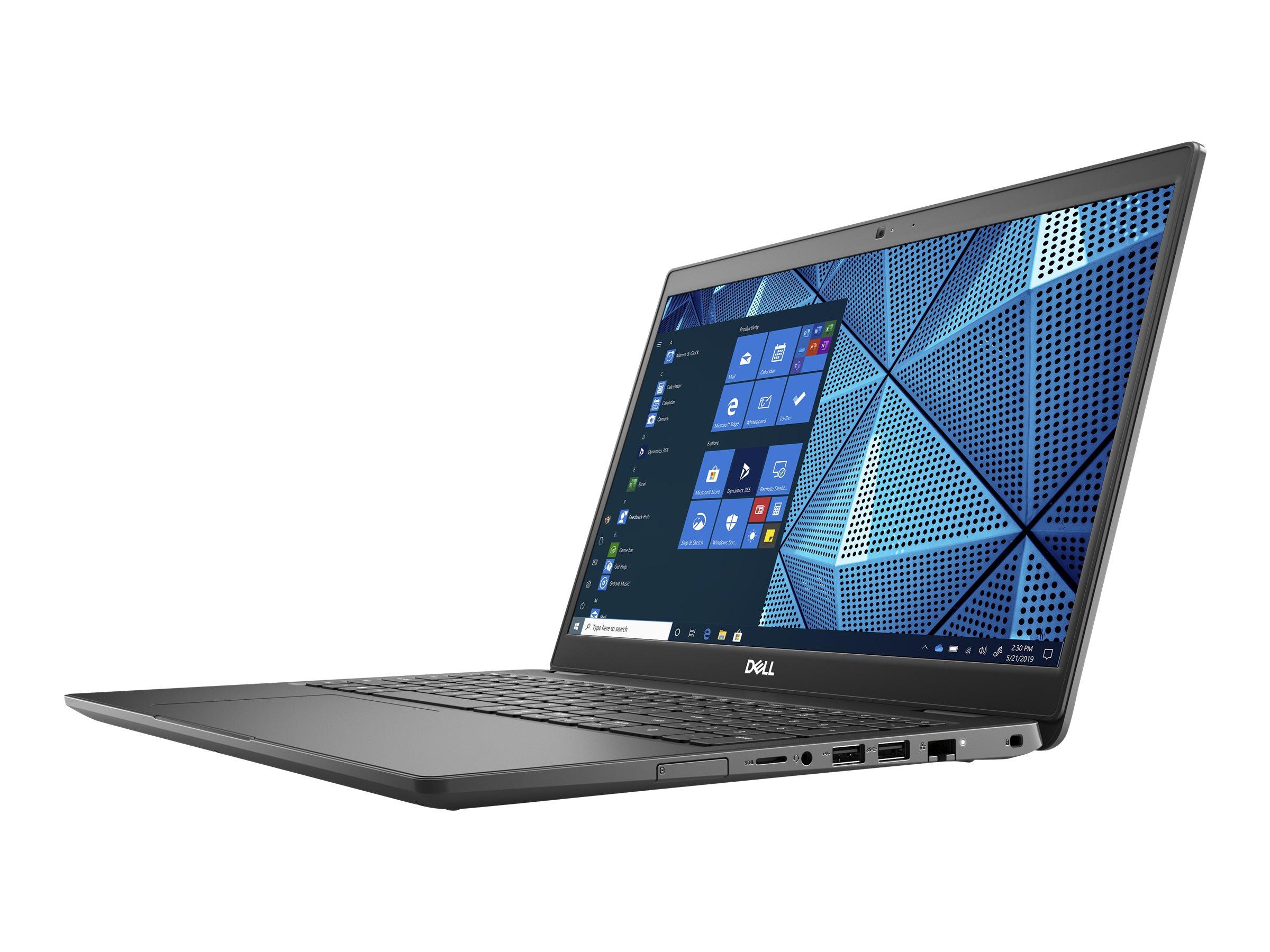 "Dell Latitude 3510 - Core i3 10110U / 2.1 GHz - Win 10 Pro 64-Bit - 8 GB RAM - 256 GB SSD NVMe - 39.49 cm (15.6"")"