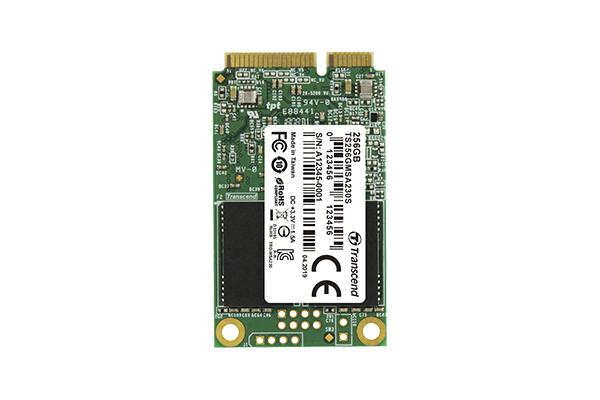 Transcend 230S - 256 GB - mSATA - 530 MB/s - 6 Gbit/s