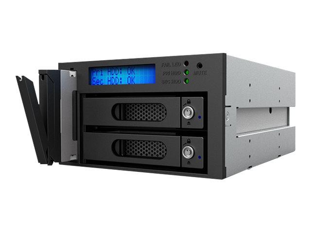 RAIDON InTANK iR2623-S3 - Festplatten-Array - 2 Schächte (SATA-600)
