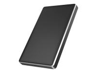 IB-245-C31-B Speicherlaufwerksgehäuse 2.5 Zoll HDD / SSD-Gehäuse Schwarz
