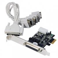 Longshine LCS-6324P - PCIe - Seriell - PCIe 1.1 - Oxford OX954 - 230,4 Kbit/s - 128 B