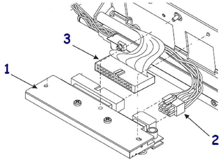 Zebra 1 - 300 dpi - Druckkopf - für PAX 170PAX2, 170PAX3