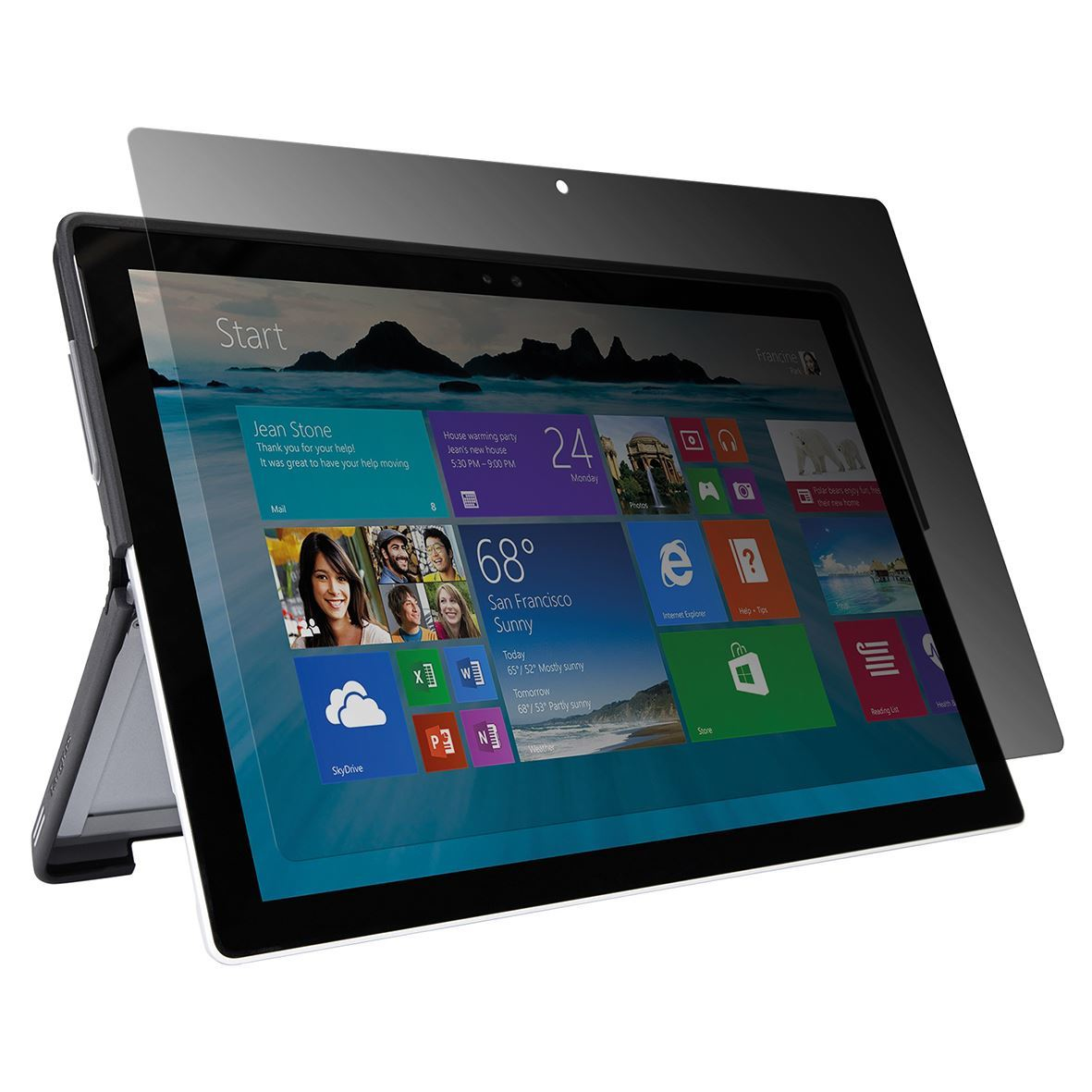 Targus Privacy Screen - Privacy-Filter für Tablet-PC - 31.2 cm (12.3\)