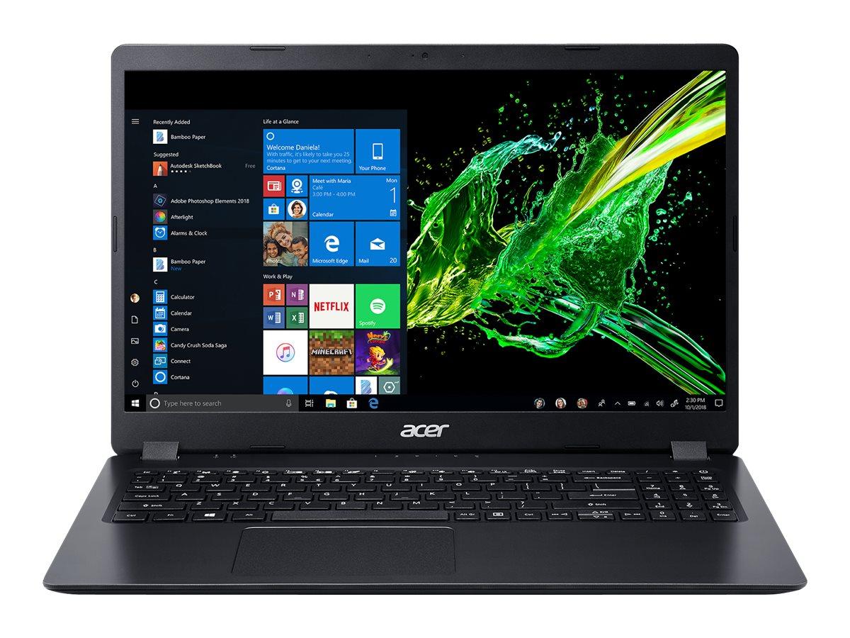 Acer Aspire 3 A315-54K-379T - Core i3 7020U / 2.3 GHz - Windows 10 Home 64-Bit im S-Modus - 4 GB RAM - 128 GB SSD - 39.6