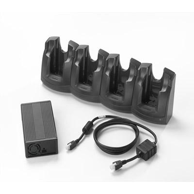 Motorola Solutions Zebra 4-Slot Charge Only Cradle Kit - Handheld-Ladestation
