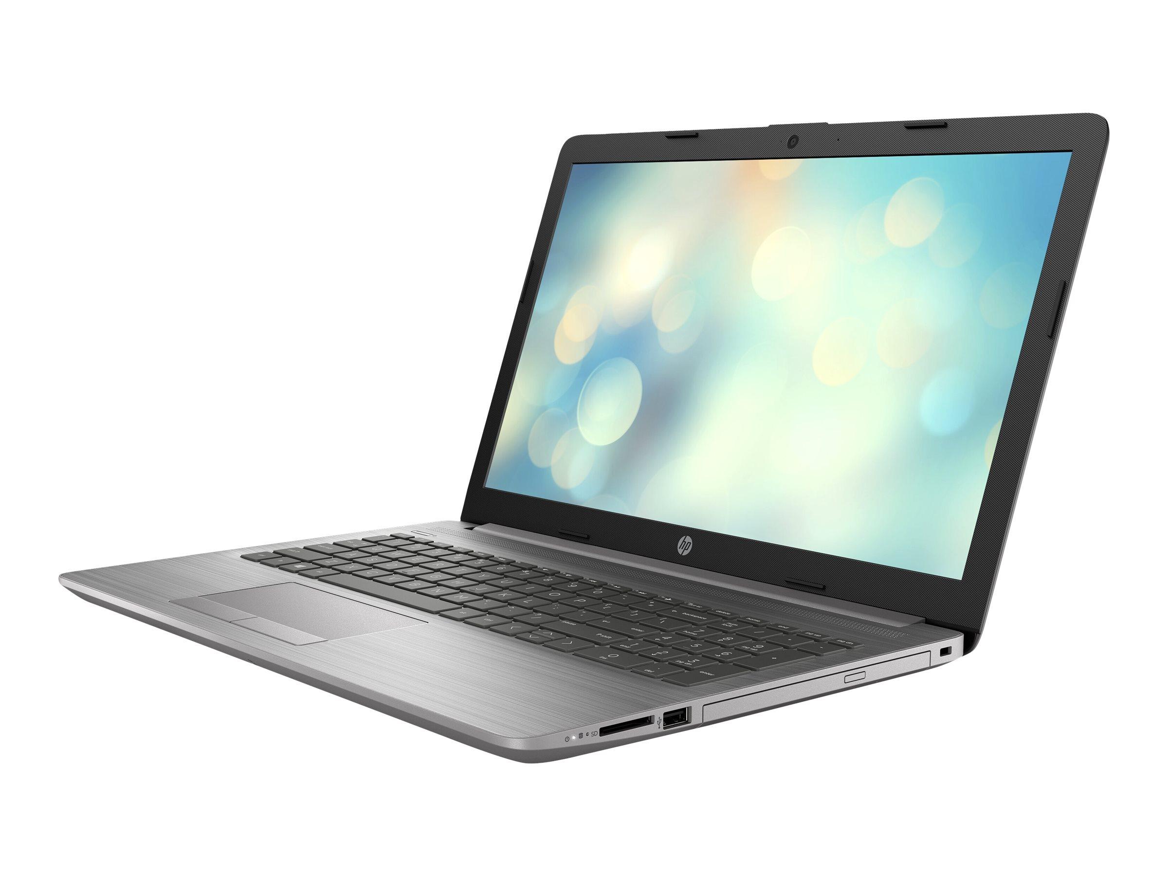 "HP 250 G7 - Core i3 1005G1 / 1.2 GHz - FreeDOS - 8 GB RAM - 256 GB SSD NVMe, HP Value - DVD-Writer - 39.6 cm (15.6"")"