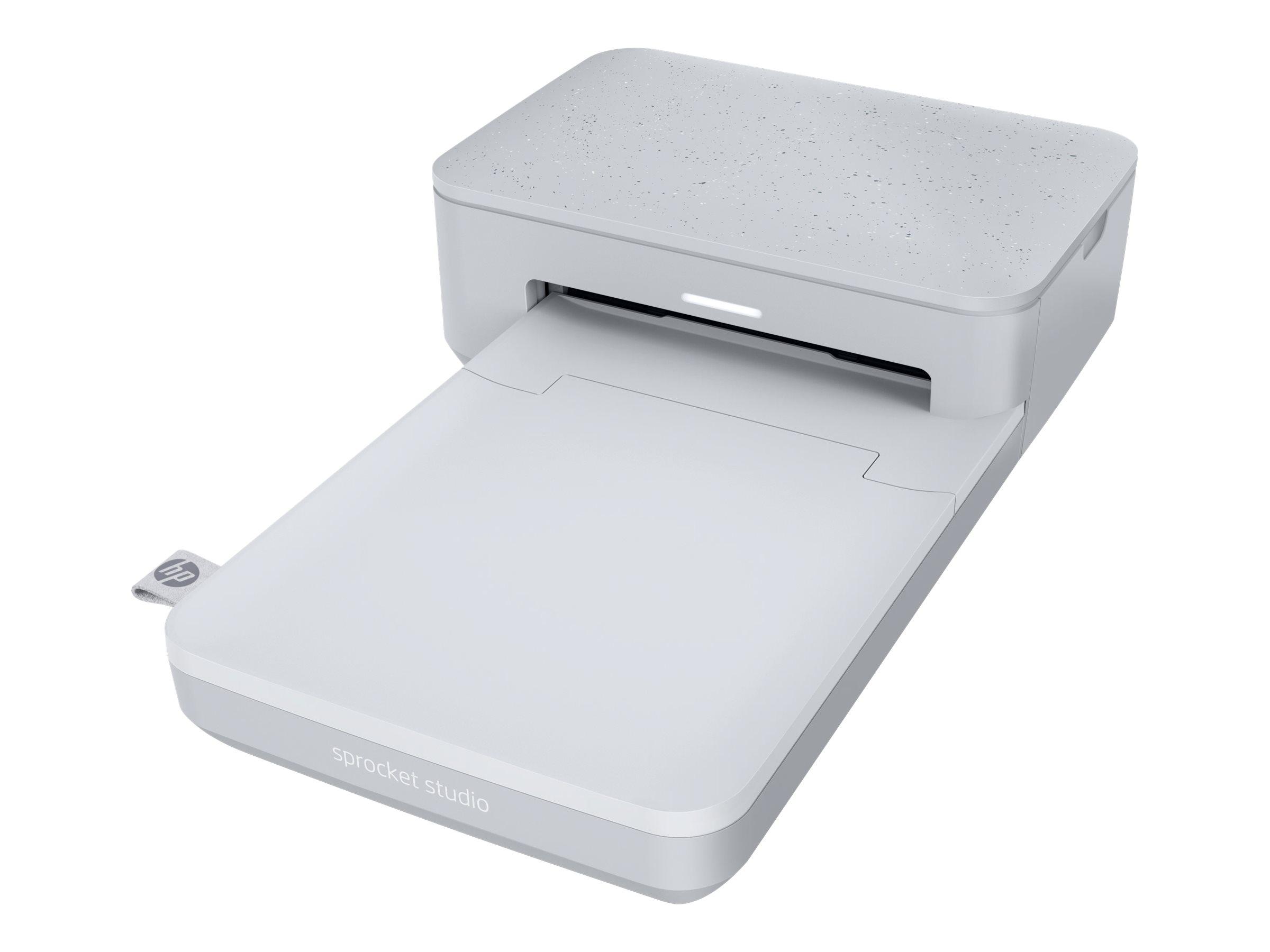 HP Sprocket Studio - Drucker - Farbe - Thermosublimation - 100 x 150 mm - 300 dpi - bis zu 1.02 Min./Seite (einfarbig)/