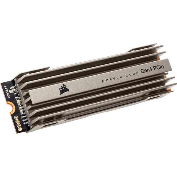 Corsair MP600 - 4 TB SSD - intern - M.2 2280 - PCI Express 4.0 x4 (NVMe)