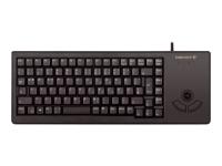 XS Trackball G84-5400 Tastatur USB QWERTZ Deutsch Schwarz