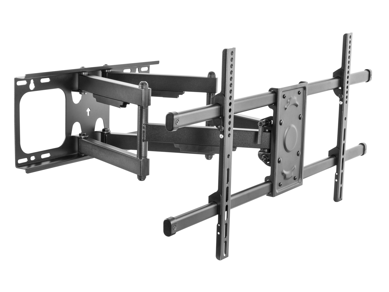 """equip 37""""-90"""" Kipp- und Schwenkbarer TV-Wandhalter - 75 kg - 94 cm (37 Zoll) - 2,29 m (90 Zoll) - 200 x 200 mm - 816 x 410 mm - Schwarz"""