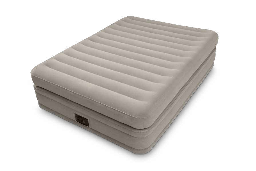 Intex Pool Luftbett Dura Beam Prime Comfort 152x203x51 cm grau