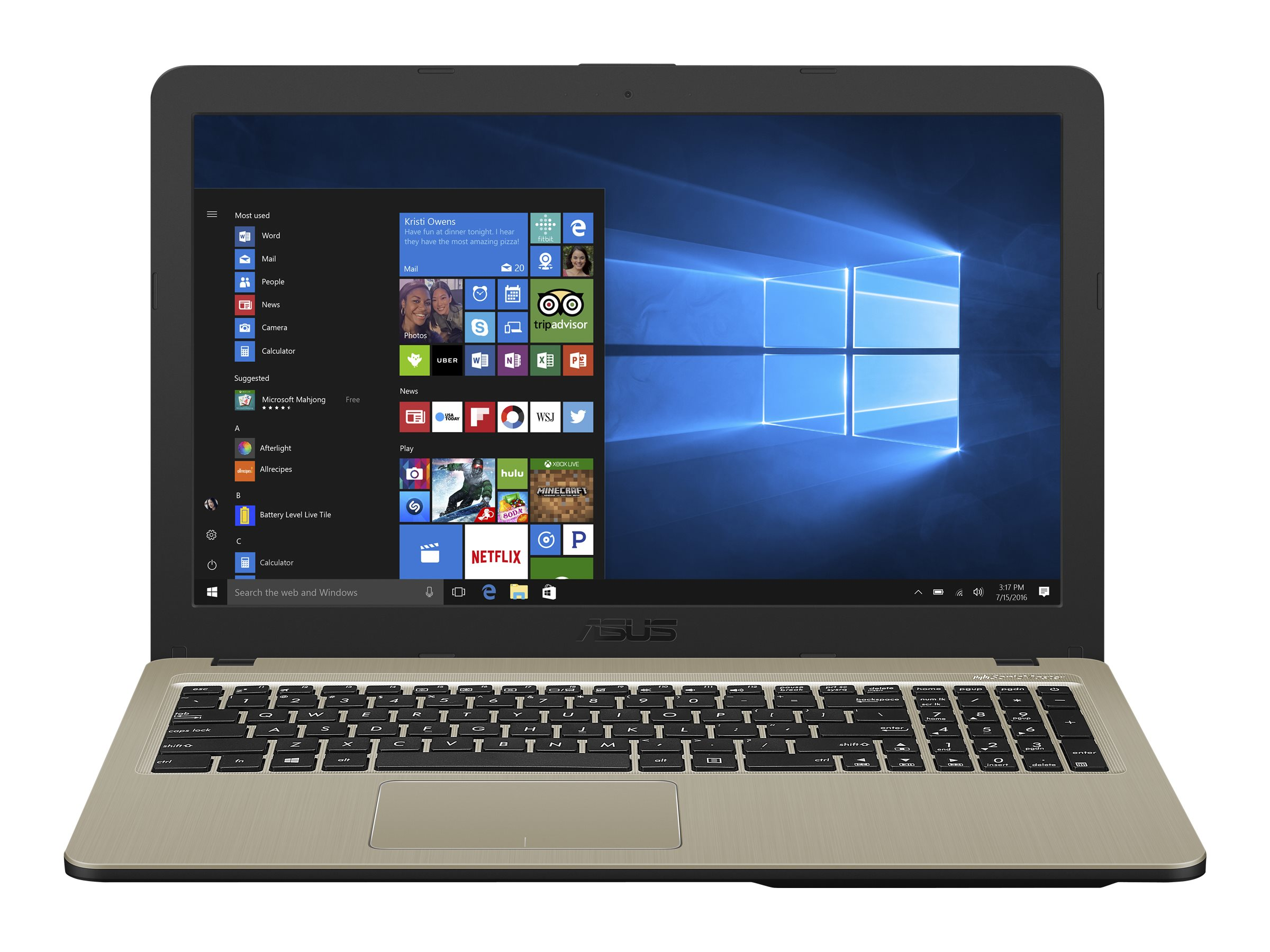 "ASUS VivoBook 15 X540UA-DM437 - 39.6 cm (15.6"") Full HD - Core i5 8250U - 8 GB RAM - 256 GB SSD - Intel UHD Graphics - kein Windows"