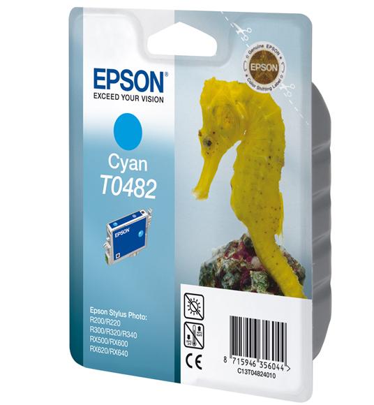 Epson T0482 - Druckerpatrone - 1 x Cyan