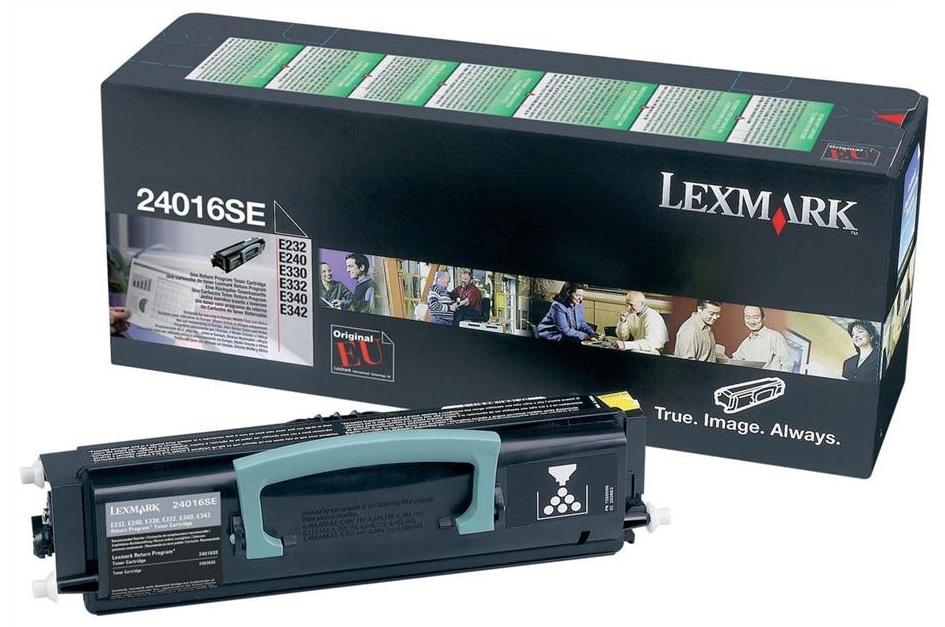 Lexmark 24016SE Laser cartridge 2500Seiten Schwarz Lasertoner / Patrone