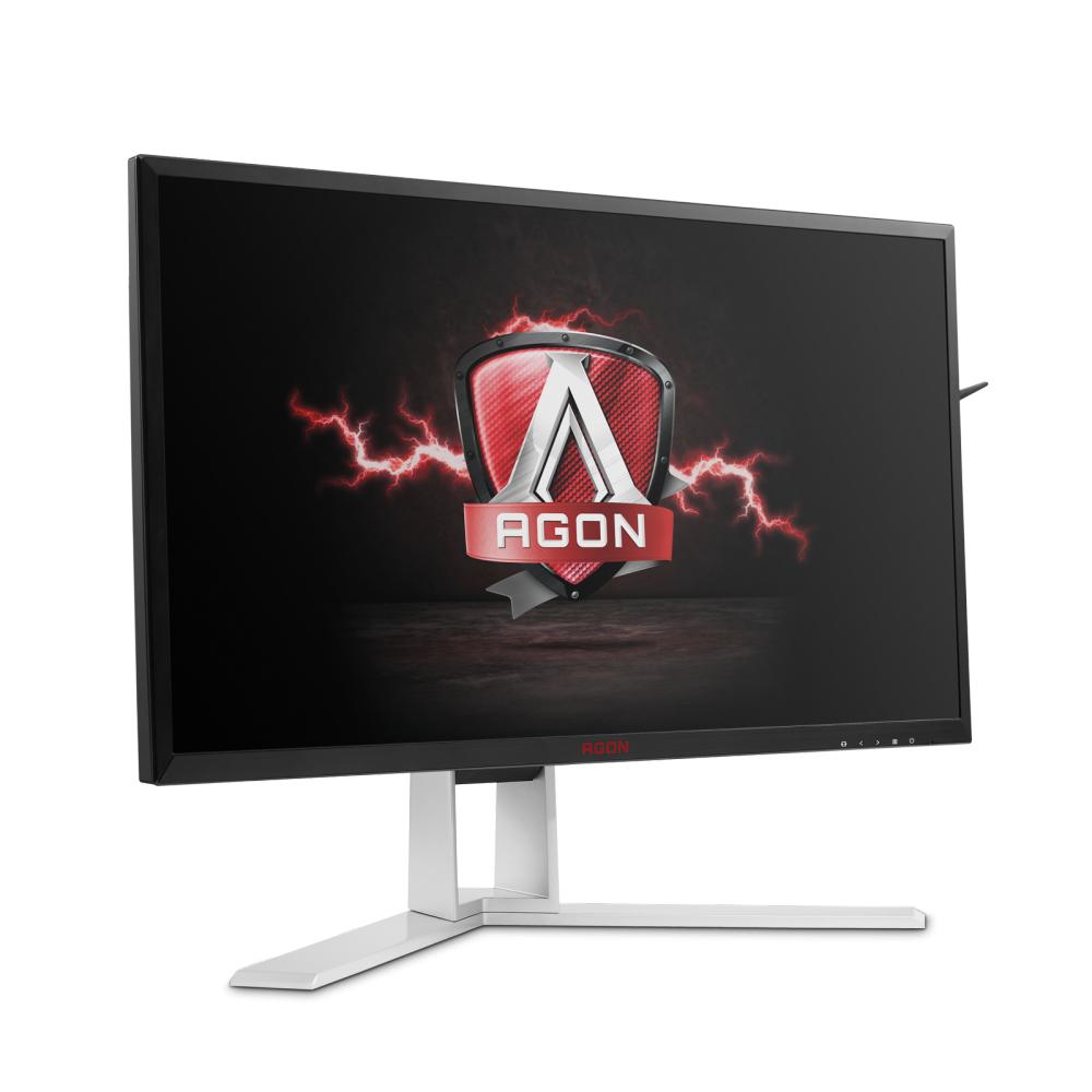 AOC AGON AG241QX 23.8Zoll Wide Quad HD TN Schwarz - Rot Computerbildschirm