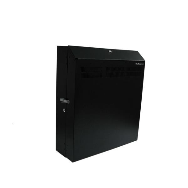 StarTech.com 4 HE 19 Wandschrank Server Rack abschließbar inklusive 2 Lüfter - max. 68Kg