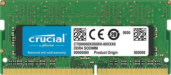 Crucial DDR4 - 4 GB - SO DIMM 260-PIN - 2666 MHz / PC4-21300