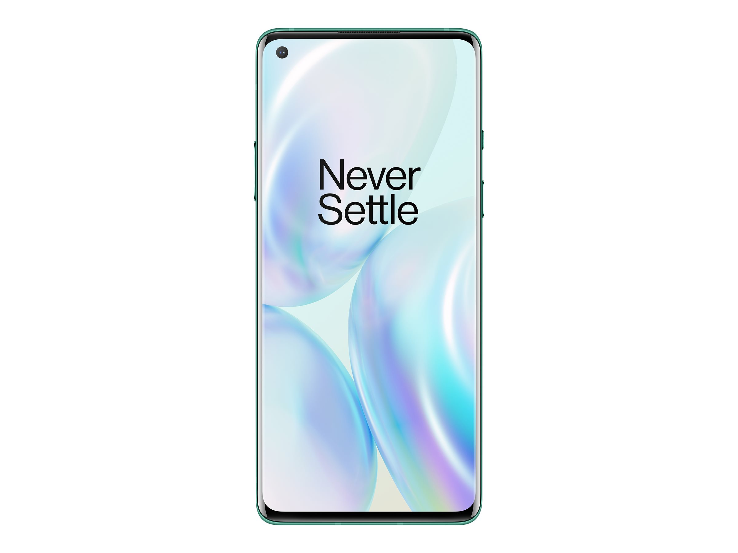 "Vorschau: OnePlus 8 - Smartphone - Dual-SIM - 5G NR - 256 GB - CDMA / GSM - 6.55"" - 2400 x 1080 Pixel (402 ppi (Pixel pro Zoll))"