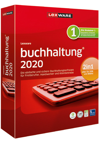 Lexware buchhaltung 2020 - Box-Pack (1 Jahr) (Frustration-Free Packaging)