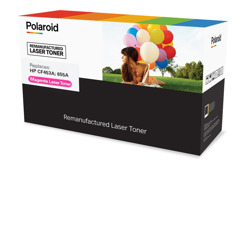 Polaroid Print - Magenta - kompatibel - wiederaufbereitet - Tonerpatrone (Alternative zu: HP 655A)