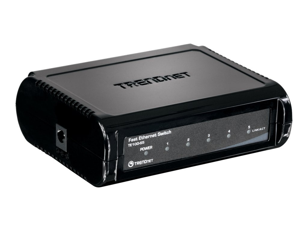 TRENDnet TE100 S5 - Switch - 5 x 10/100 - Desktop