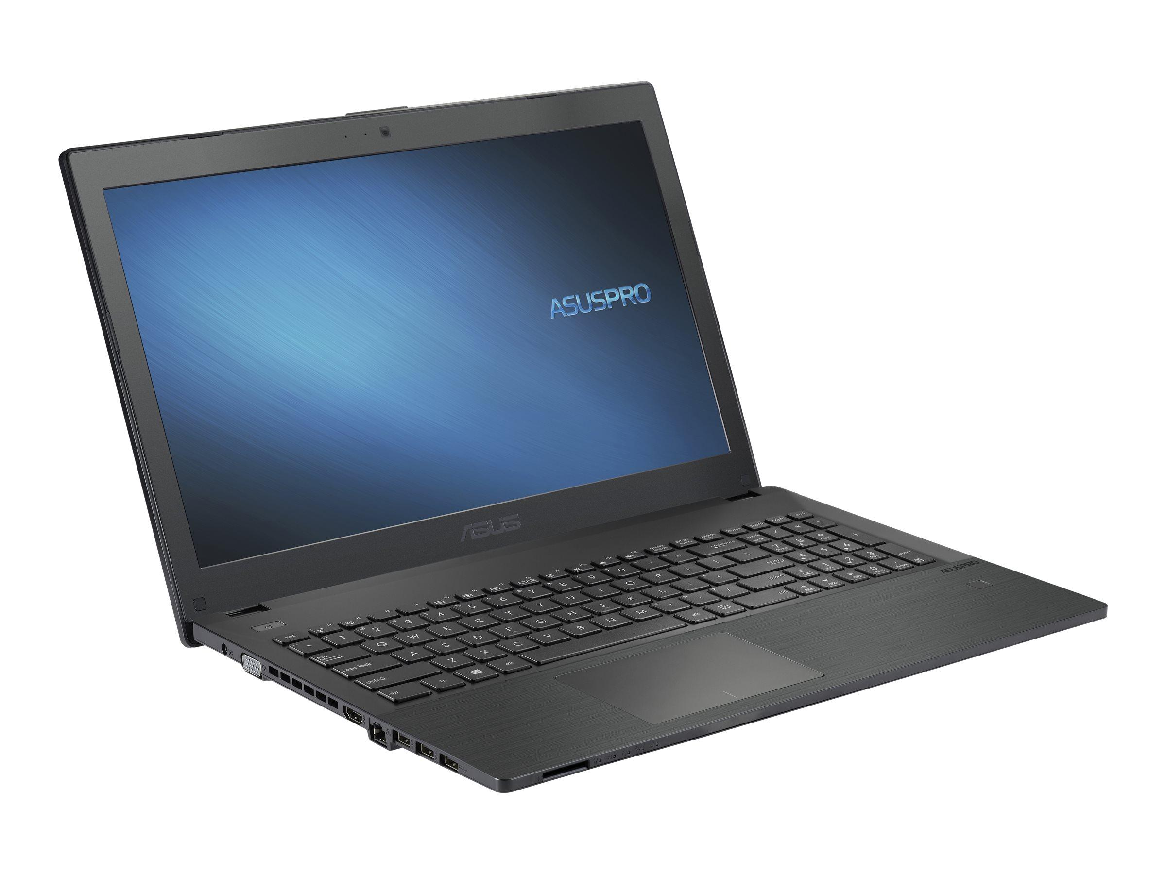 "ASUS ASUSPRO P2 P2540FA-DM0754RA - Core i5 10210U / 1.6 GHz - Windows 10 Pro National Academic - 8 GB RAM - 256 GB SSD NVMe - DVD-Writer - 39.6 cm (15.6"")"