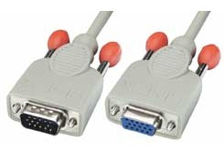 Lindy VGA-Verlängerungskabel - HD-15 (M) - HD-15 (W)