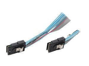 Supermicro CBL-0281L - Internes SAS-Kabel - 36 PIN 4iMini MultiLane bis 36 PIN 4iMini MultiLane