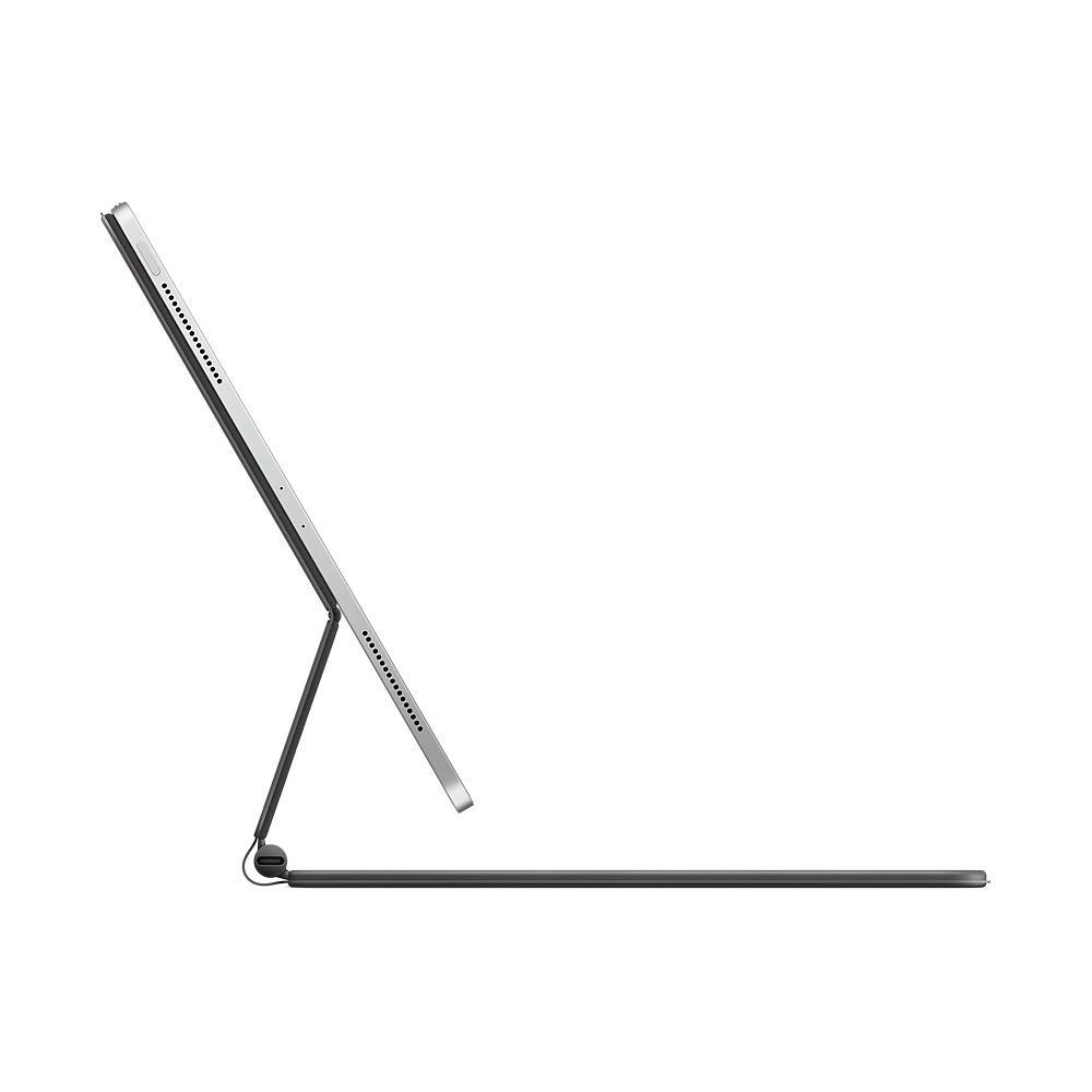 Apple Magic Keyboard - Tastatur und Foliohülle - mit Trackpad - hinterleuchtet - Apple Smart connector - QWERTZ - Deutsch - für 12.9-inch iPad Pro (3. Generation, 4. Generation)