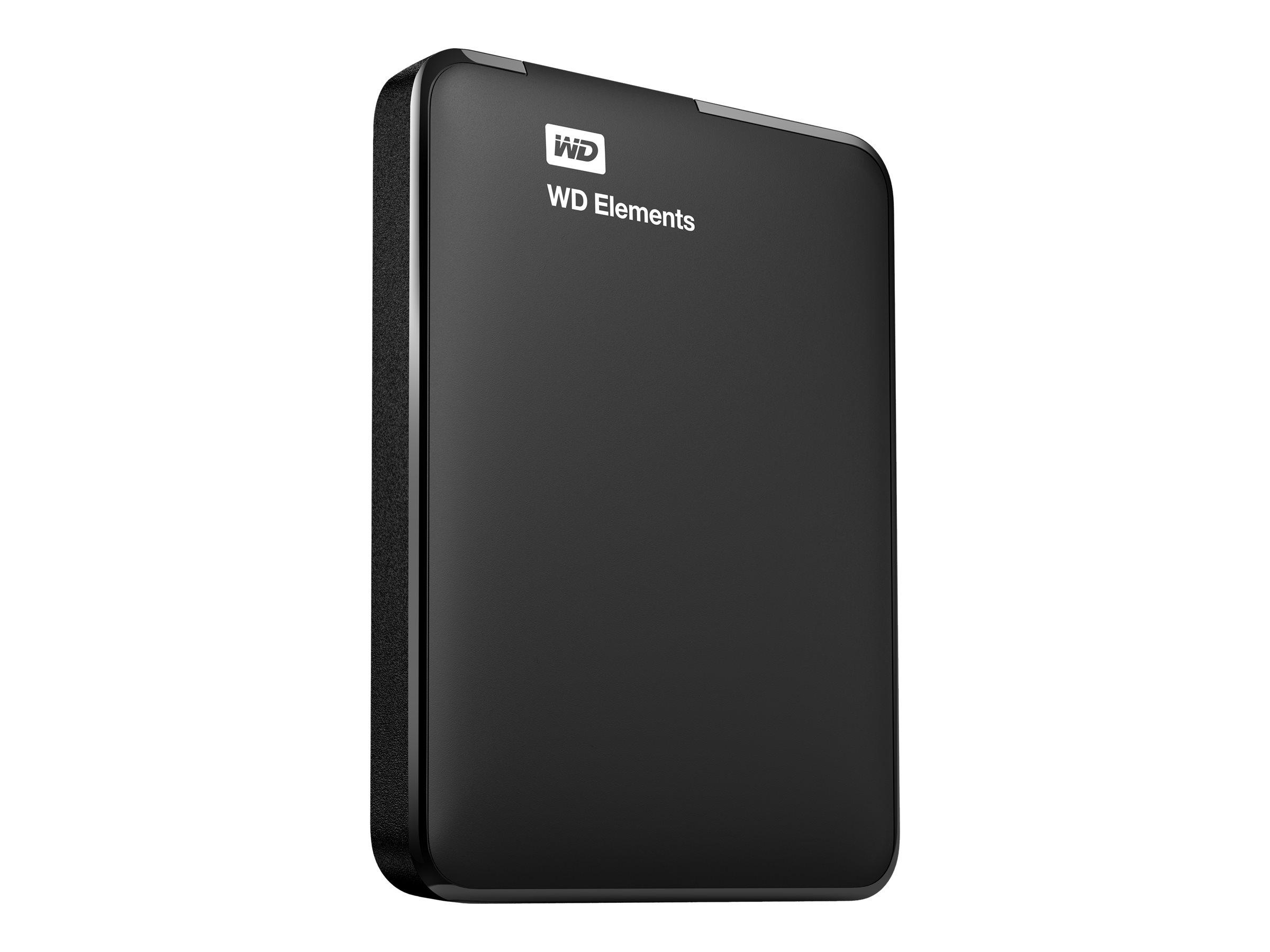WD TDSourcing Elements Portable WDBU6Y0040BBK - Festplatte - 4 TB - extern (tragbar)