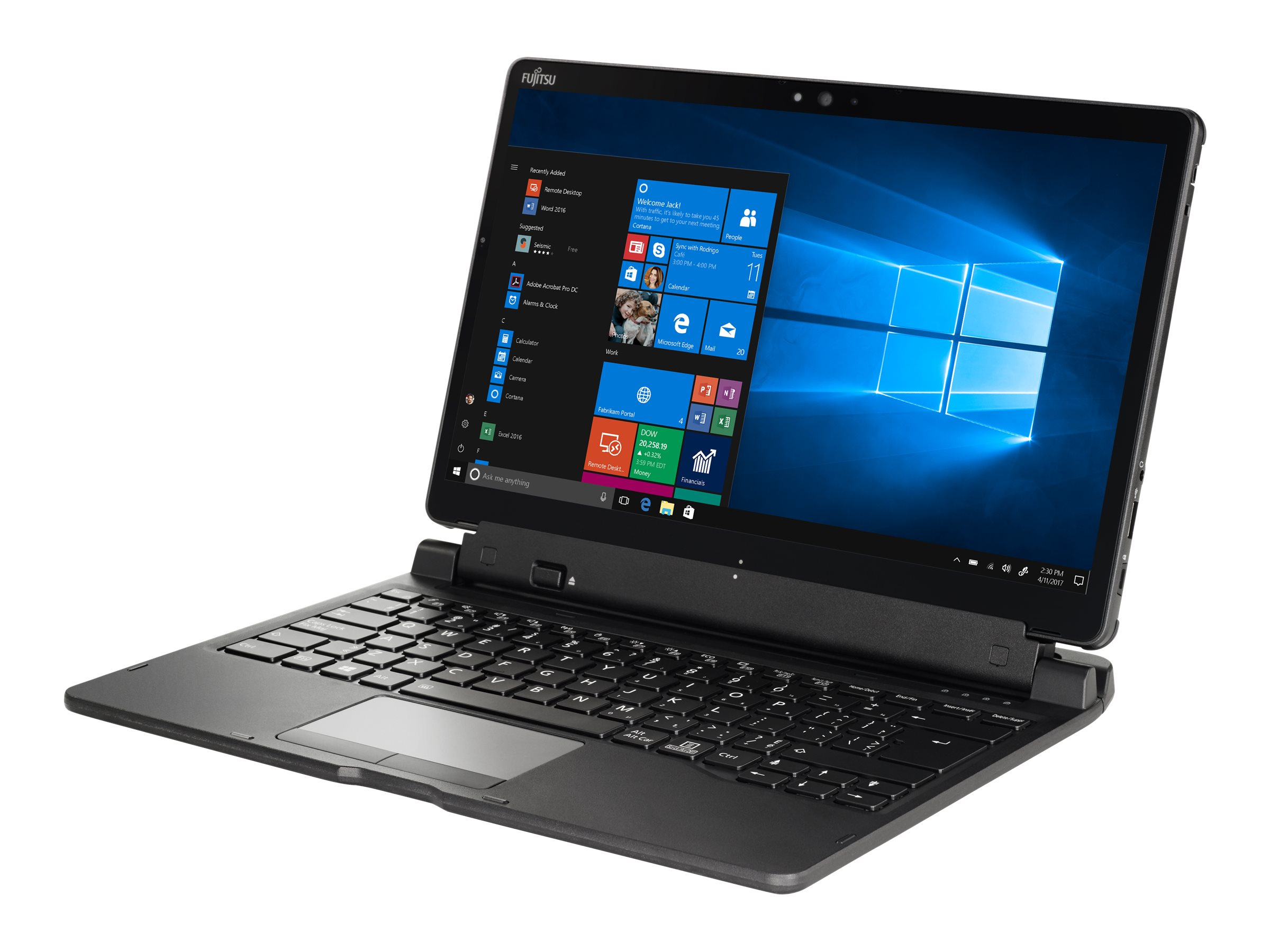 "Fujitsu Stylistic Q739 - Tablet - Core i5 8265U / 1.6 GHz - Win 10 Pro - 8 GB RAM - 512 GB SSD SED, TCG Opal Encryption - 33.8 cm (13.3"")"