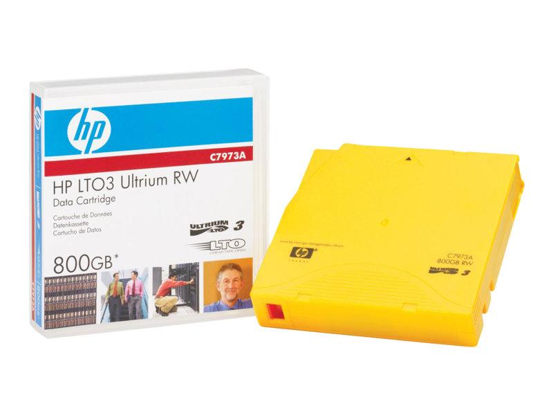 HPE LTO-3 Ultrium 800GB RW Data Tape (C7973A)