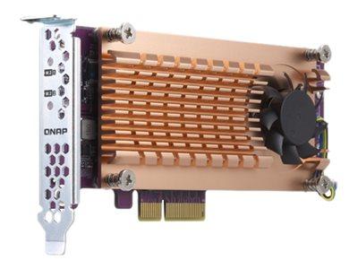 QNAP QM2-2P-344 - Speicher-Controller - M.2 - PCIe Low-Profile