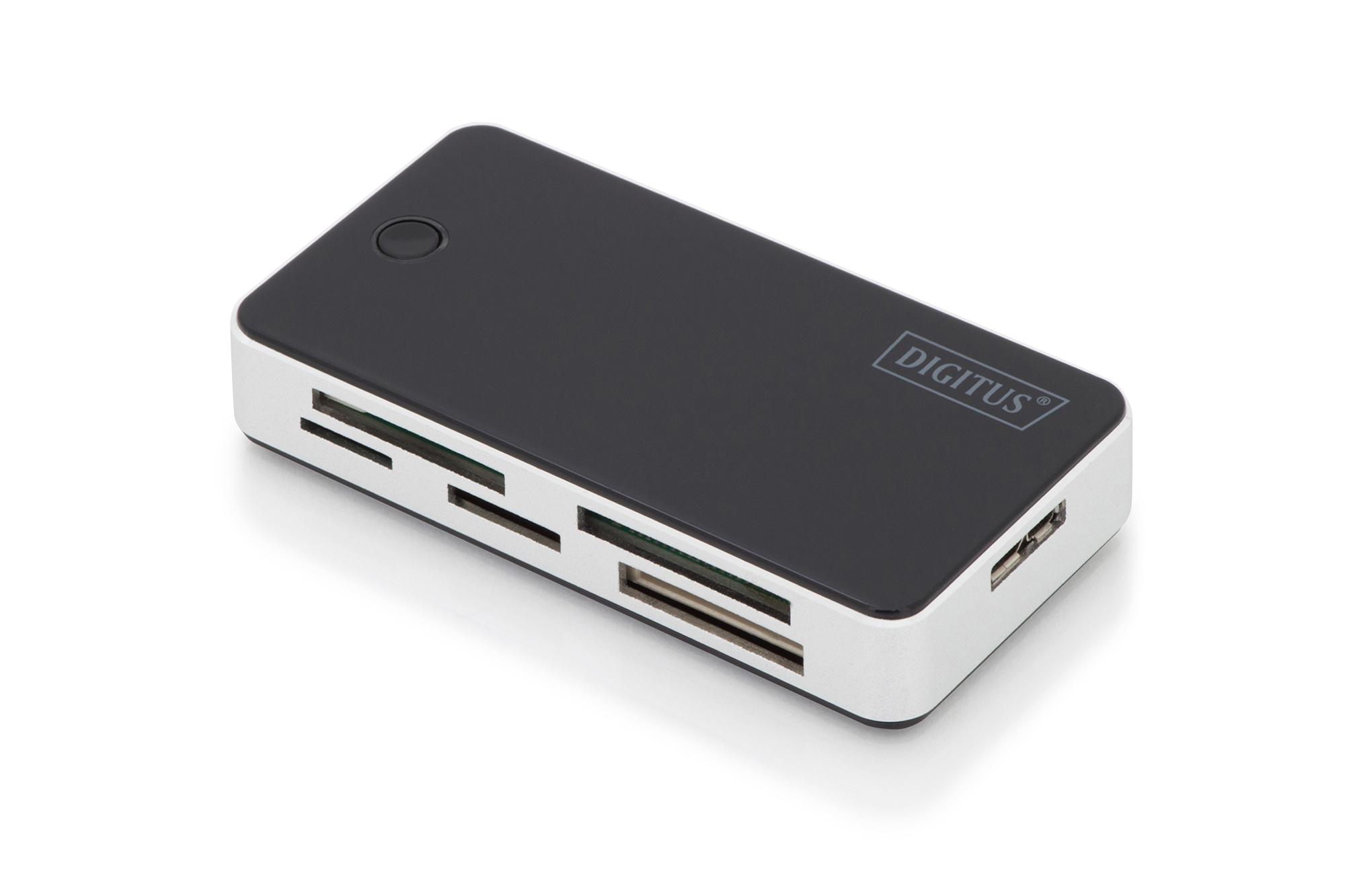 DIGITUS All-in-one Kartenlesegerät, USB 3.0