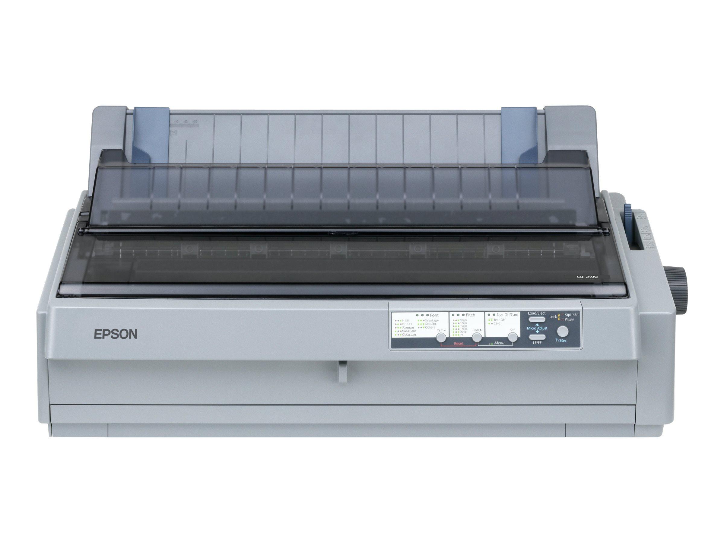 Epson LQ 2190N - Drucker - monochrom - Punktmatrix - 420 mm (Breite)