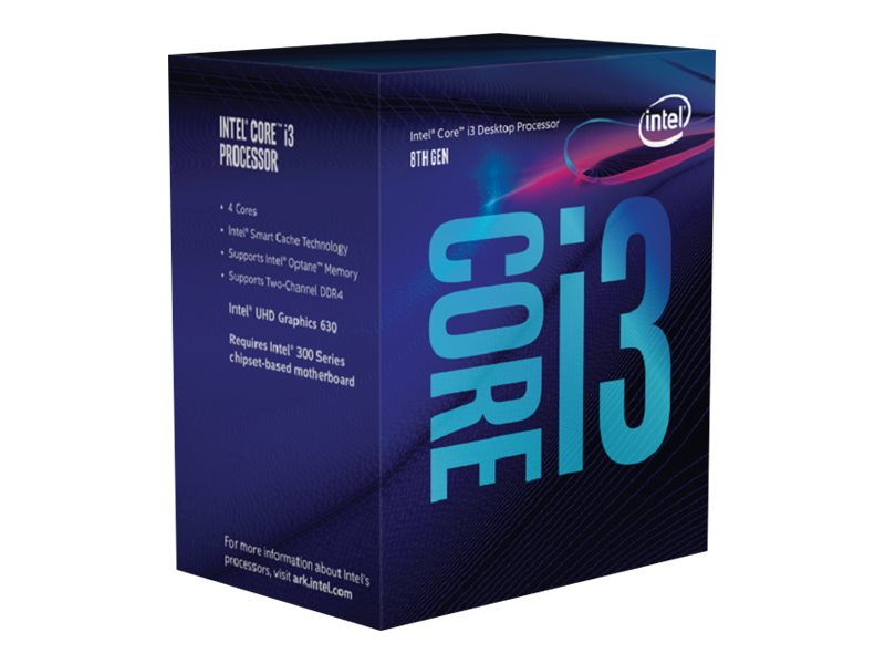 Intel Core i3 8100 - 3.6 GHz - 4 Kerne - 4 Threads